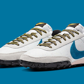 NIKE - Waffle Racer - Summit White/Green Abyss/Photon Dust