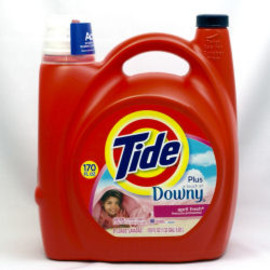 TIDE - Ultra Tide Plus Downy April Fresh Liquid Laundry Detergent 5.02-L