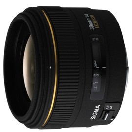 Sigma - 30mm f1.4 EX DC HSM Digital Lens For Canon Mount (Electronics)