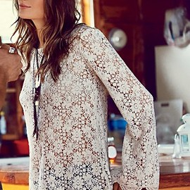 Free People - Infinite Arms Lace Tunic
