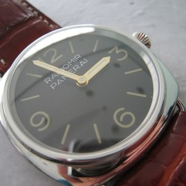 PANERAI - Pam 21 Radiomir In Platinum with Rolex Movement