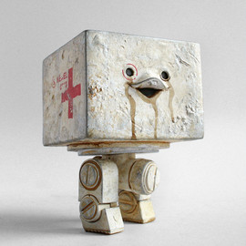 "Ashley Wood, 3A Toys, ThreeA Toys - WWR Mighty Square ""Medic Square"""