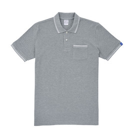 LOOPWHEELER - LW Kanoko Line Pocket Polo Shirt