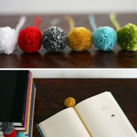 designmom.com - Yarn Ball Bookmark