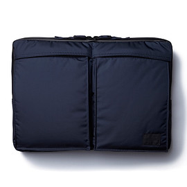 "HEAD PORTER - ""MASTER NAVY"" LAPTOP CASE 13inch"