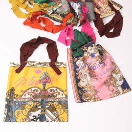 MUVEIL - VINTAGE SCARF re-make BAG