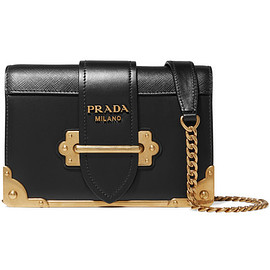 prada - mini leather shoulder bag