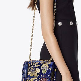 TORY BURCH - Cosmic Floral Small Shoulder Bag