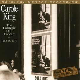 Carole King - Carnegie Hall Concert: June 18 1971