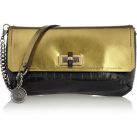 Lanvin - The Happy Poppy leather clutch