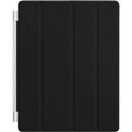 Apple - iPad2 Smart Cover(スマートカバー) (Black Cover(革製))