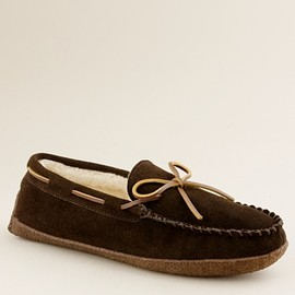 J.Crew - Fleece-lined lodge moccasins