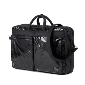 "fragment design, HEAD PORTER - ""fragment design"" Laptop 3WAY BAG (L) BLACK/BLACK"