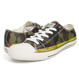 Denim & Supply - Denim & Supply Ralph Lauren (デニム&サプライ ラルフローレン) CANVAS SHOES LO CAMO スニーカー CAMO