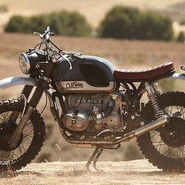 CRD (Cafe Racer Dreams) - BMW R 75/5  CRD#14 the challenge