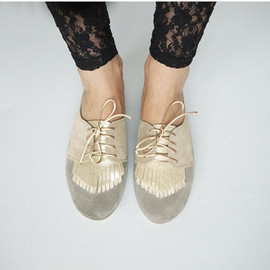 The Fringed Oxfords - Handmade Shoes