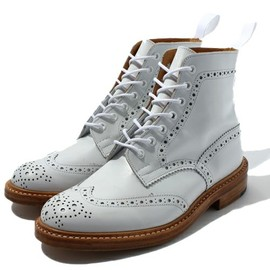 Tricker's - Country Boots / White