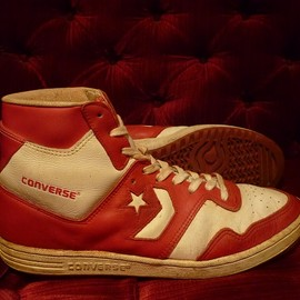 converse - STARTECH COLORS(18917)WHITE/RED