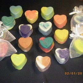 Luulla - Heart Olive Oil Soaps Sampler Village REDUCED
