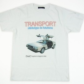 TRANSPORT - TRANSPORT DeLorean TEE