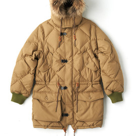 bal - QUILTED DOWN COAT