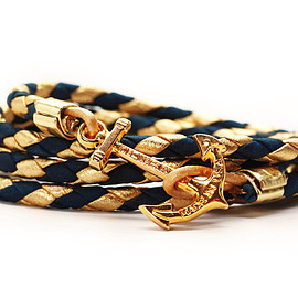 kiel james patrick - anchor bracelet