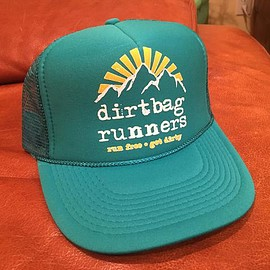 dirtbag runners - DBR Teal Hat - SPECIAL EDITION