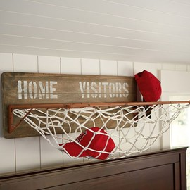 PBteen - Sports Wall Organization - Horizontal Storage