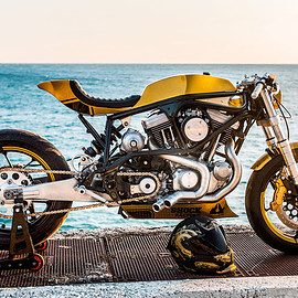 Taverne Motorcycles - Buell M2 Cyclone cafe racer