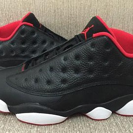 Nike - NIKE AIR JORDAN 13 RETRO LOW BLACK/METALLIC GOLD-UNIVERSITY RED