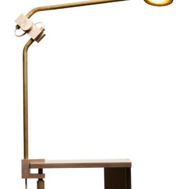 Asaf Weinbroom - Wooden, Hand-Made Desk Lamp