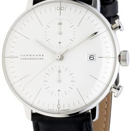 JUNGHANS - Max Bill Chronoscope White Dial