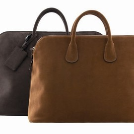 Valextra - Leather Boston Bags