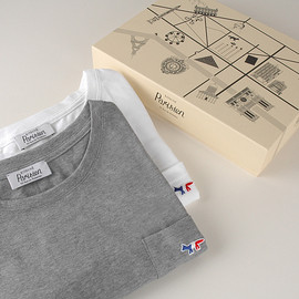 MAISON KITSUNÉ - Tee Shirt Parisien Men