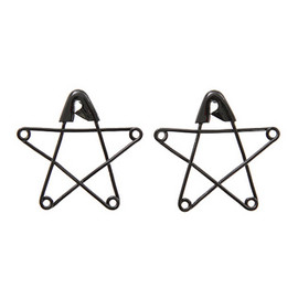 Candy Stripper - ASTERISK PIN PIERCE | BLACK