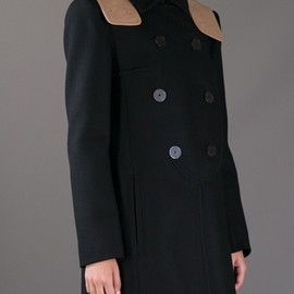CARVEN - CARVEN - double-breasted coat 9