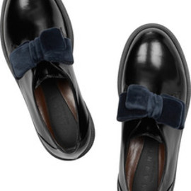 Patent leather loafers 2013AW