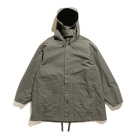 ENGINEERED GARMENTS - Madison Parka-Double Cloth-Olive