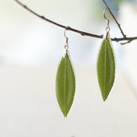 UralNature - Real Leaf Earrings