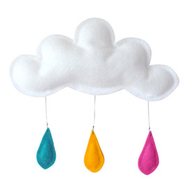 turquoise - Cloud TURQUOISE-ORANGE-PINK The Butter Flying
