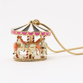 kate spade NEW YORK - CARNIVAL NIGHTS CAROUSEL LARGE PENDANT