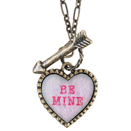 Katie - SWEET HEART heart candy necklace