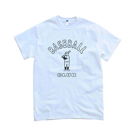 M.I.U. - BASEBALL CLUB(white)