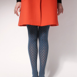 ayame - Herringbone tights