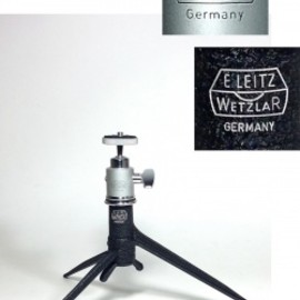 ドイツ・ライカ - 1940-60's【E.Leitz】Tabletop Tripod w/ Small Ball Head