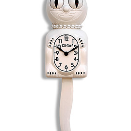 Valleys trap - White Lady Kit-Cat Clock