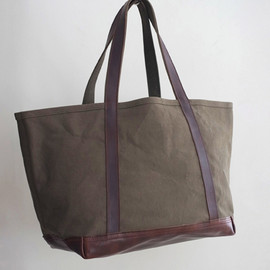 MAINE DUCK 2WAY SHOPPING TOTE