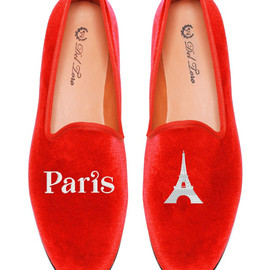 Del Toro - paris eiffel tower loafers