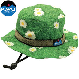 KAVU - SYNTHETIC STRAPBUCKET HAT Daisy
