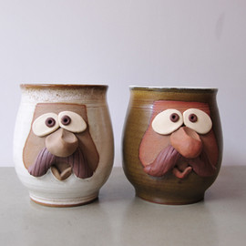"BROWN by 2-tacs  - Mug""Fanny face"""
